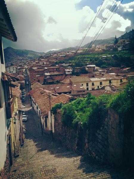 Cusco y sus calles.