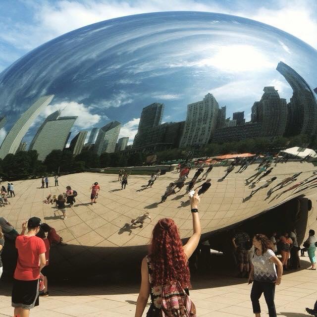 Cloud Gate, The bean.Chicago