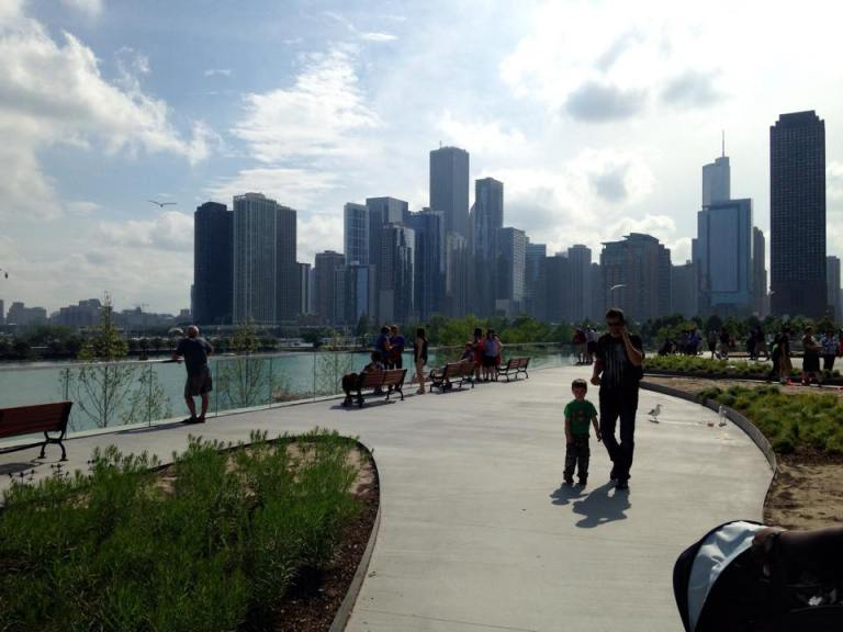 Navy Pier, en el Lago Michigan. Chicago