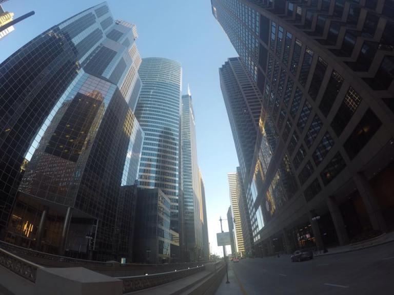 Edificios y rascacielos,ciudad de Chicago