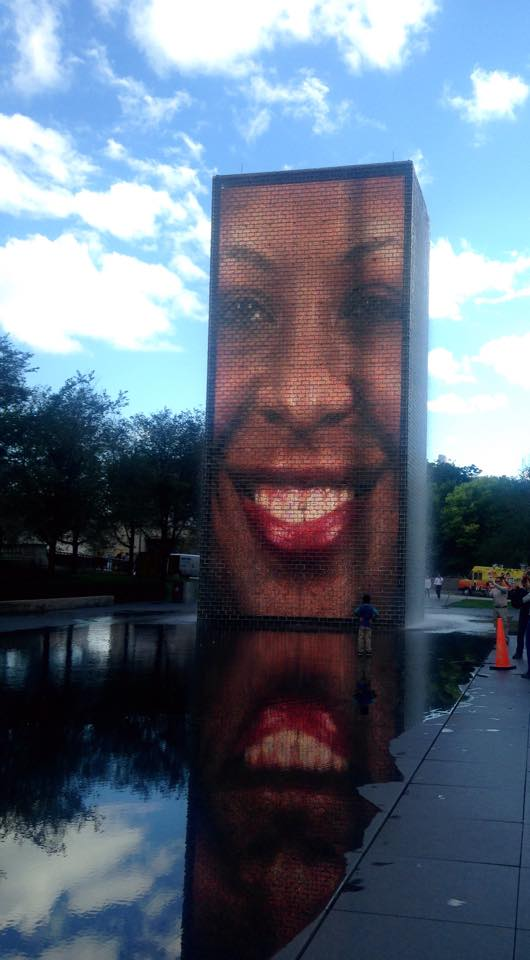 The Crown Fountain, Chicago