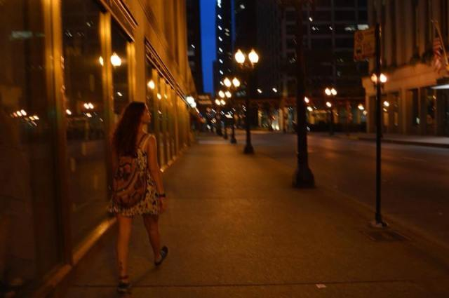 Chicago Downtown de noche