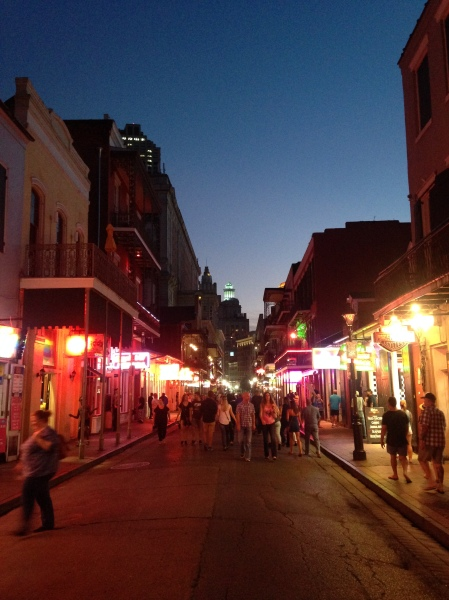 New Orleans, calle Bourbon Street