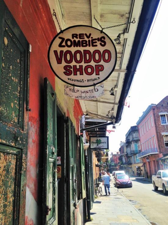 Tienda de vudu en Nueva Orleans