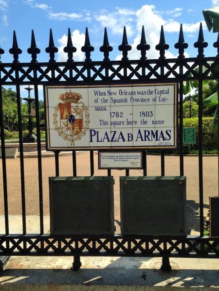 Plaza de Armas, Nueva Orleans