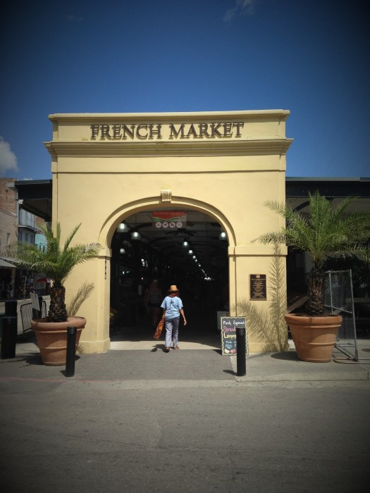 French Market en New Orleans