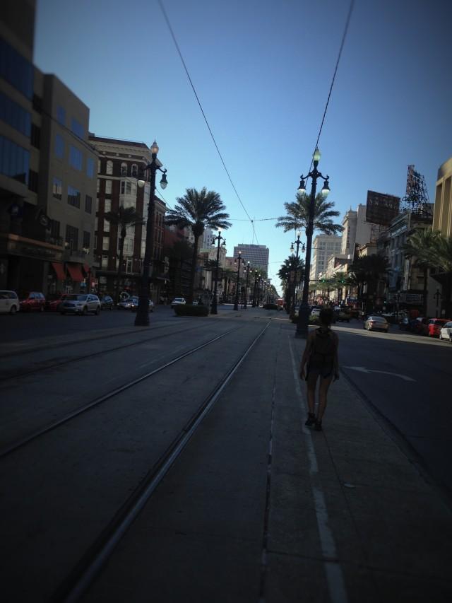Canal Street, en Nueva Orleans