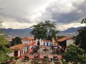 Pueblito Paisa en Medellín,.Colombia