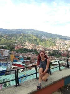 Medellín desde la comuna 13,Colombia