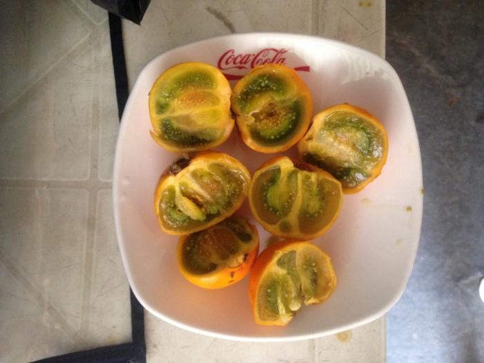 Frutas de Colombia: lulo.