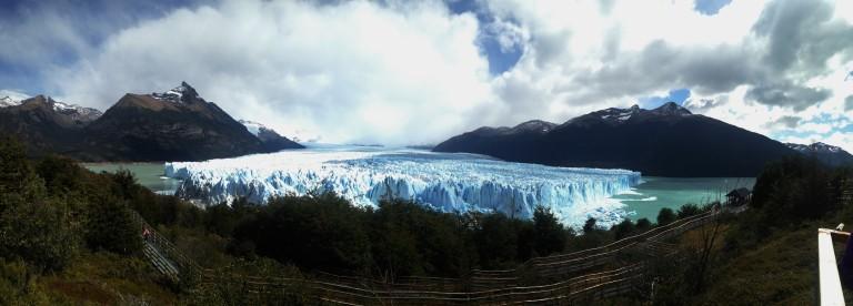 Panoramica del Glaciar Perito Moreno