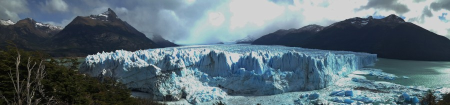 viajar a dedo hasta el calafate, informacion glaciar perito moreno