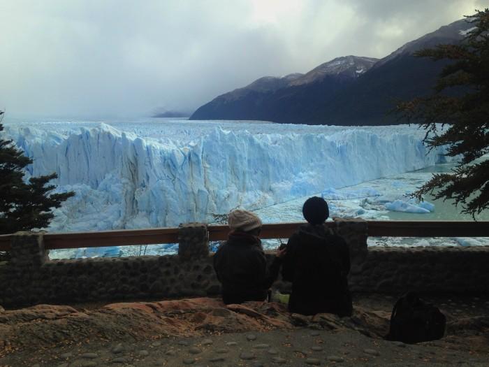 Glaciar Perito Moreno, en el Parque Nacional de Glaciares