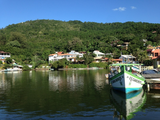 Barra do Lagoa, Florianapolis.