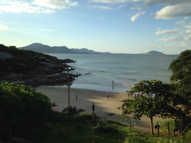 Playa barra do Lagoa, Florianapolis.