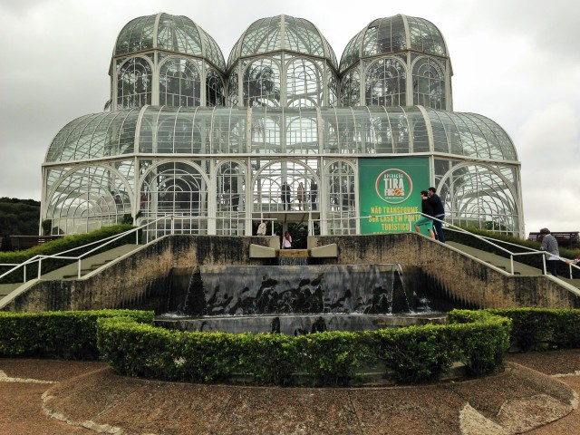 Jardín Botánico. Curitiba