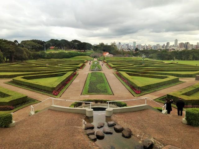 Jardín Botanico, Curitiba