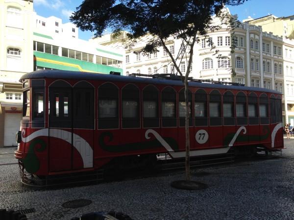 Bondinho da leitura, Curitiba