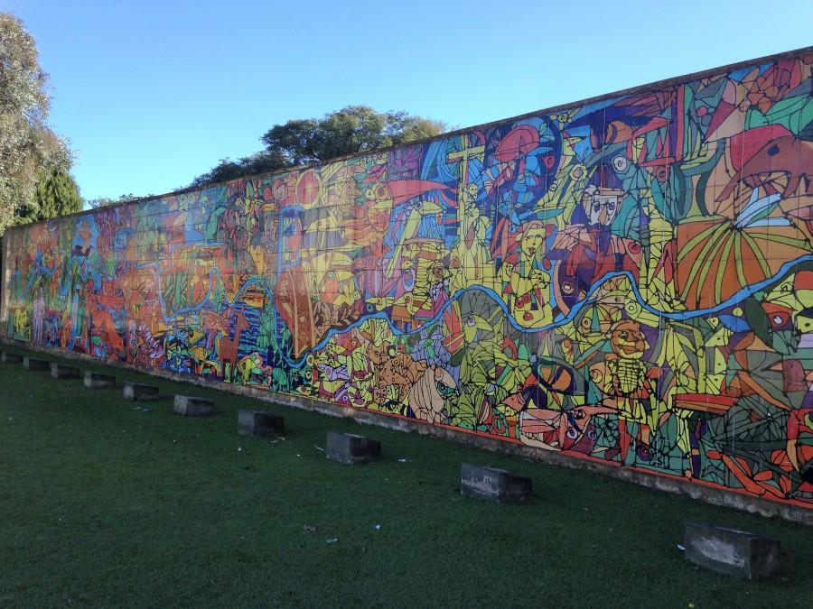 Curitiba, viajar a dedo Brasil mochilera