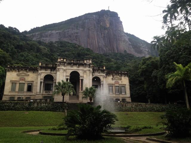 Parque Lage, morro da Corcovado - subir caminando