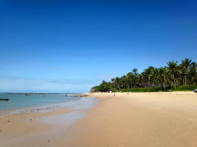 Playa arrail d' ajuda, Brasil.