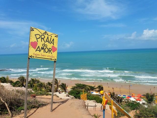 playa do amor. Pipa.Brasil
