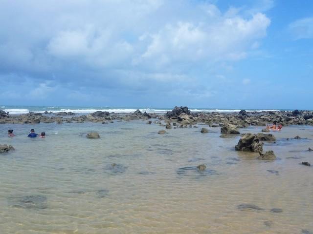 Playa de Pipa, piscinas naturales