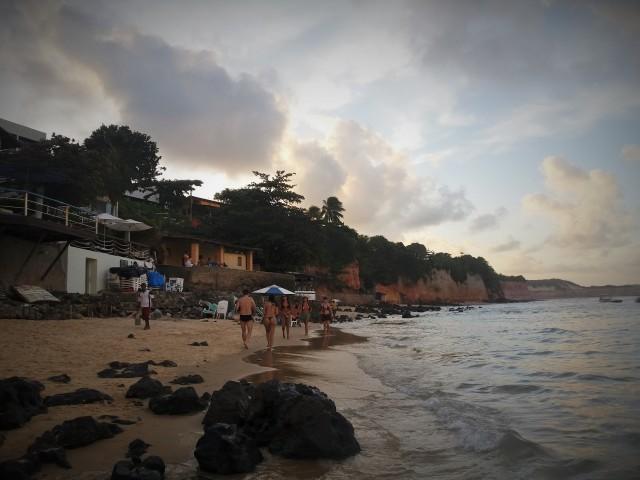 Playa central de Pipa, Brasil