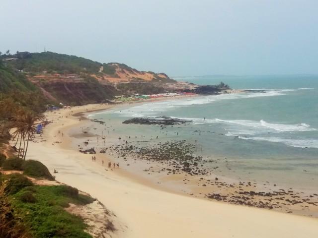 Vista desde Chapadao de Playa do amor, Pipa
