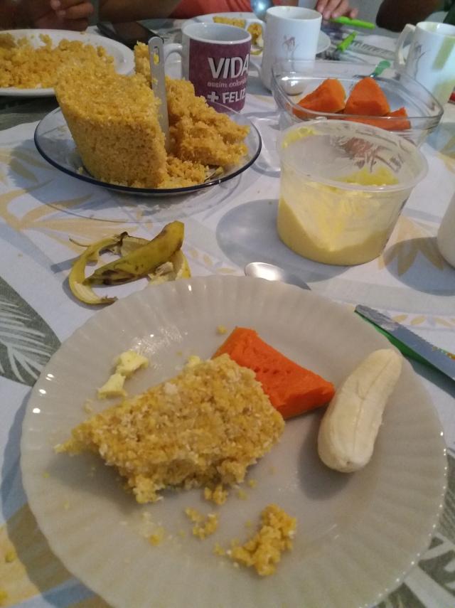 Desayunos típicos en el nordeste de Brasil