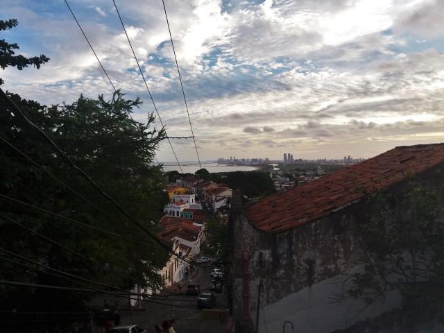 Las calles de Olinda después del Carnaval