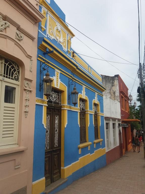 Fachadas delas casas de Olinda.