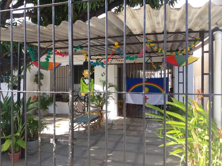 Casas en Olinda decoradas para el Carnaval