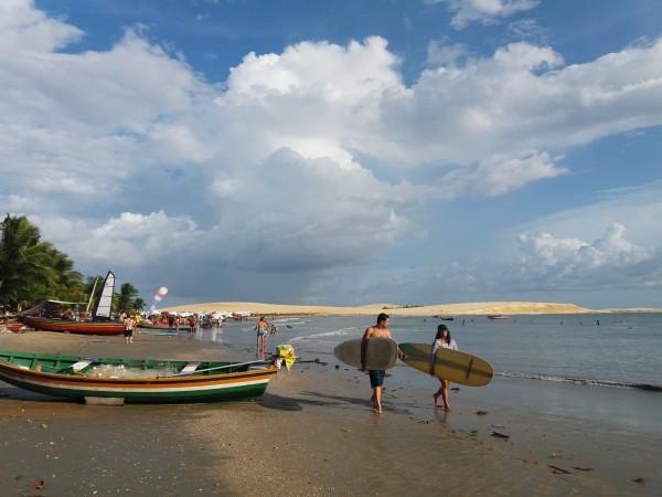 Guía para ir a Jericoacoara: coómollegar,qué hacer y qué ver. Playa de Jericoacoara