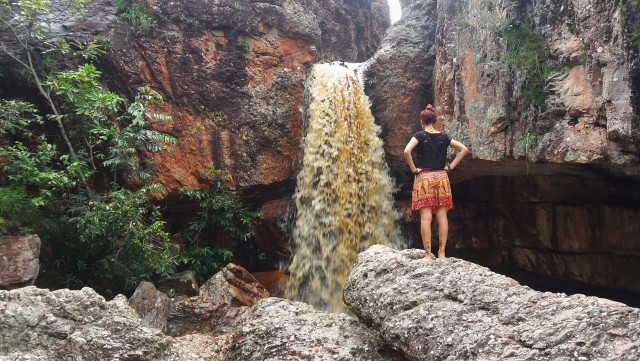 Cachoeira da Primavera, paseos gratis en la Chapada Diamantina
