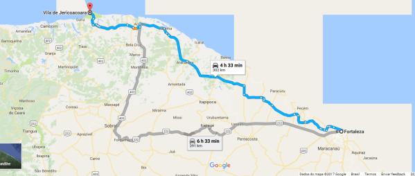 Cómo llegar a Jericoacoara.