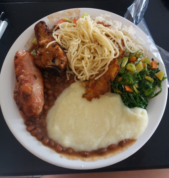 Comida típica en Brasil