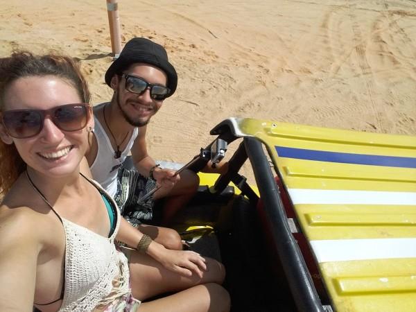 Viajar por Brasil, un año y medio a dedo