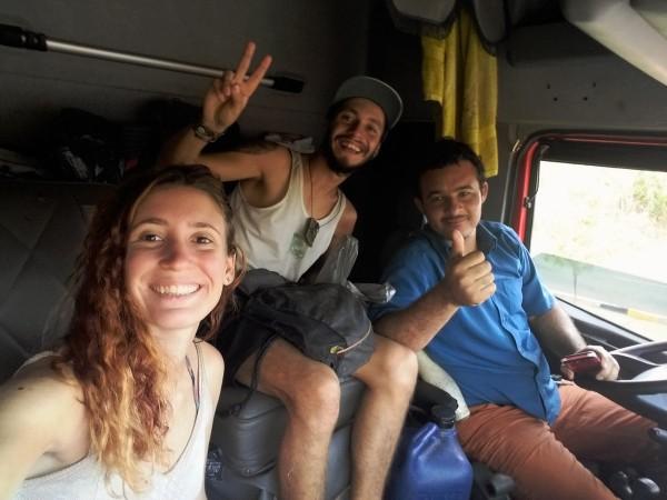 Viajando a dedo por Brasil