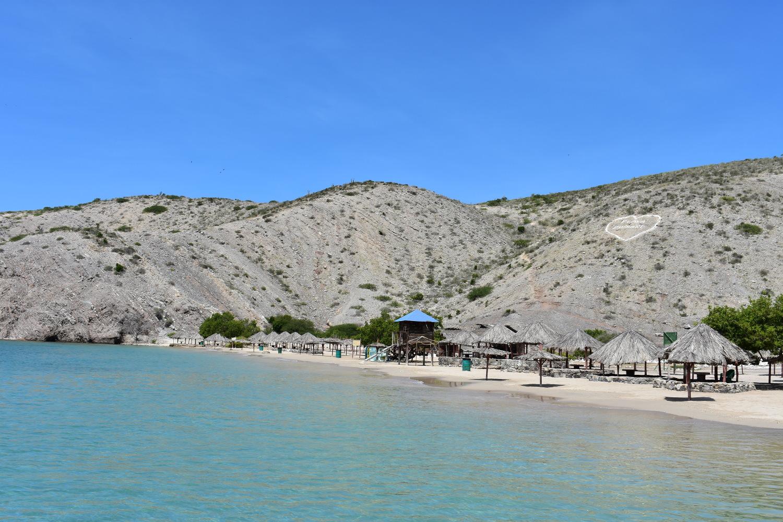 Playa Puinare en Parque Nacional Mochima