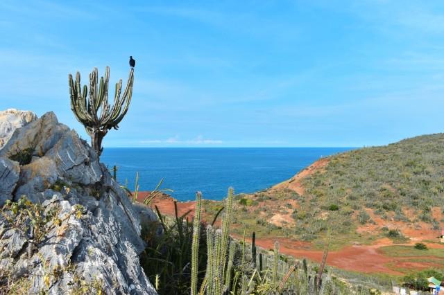Playa El Faro en Isla el Faro, Parque Nacional Mochima
