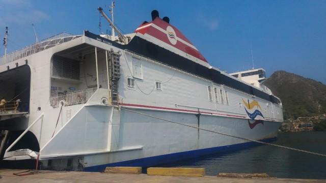 Isla Margarita, cómo ir: conferry desde Guanta