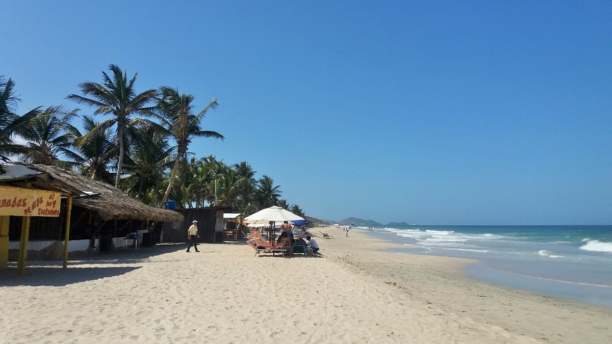 Isla Margarita, que playas visitar: playa parguito