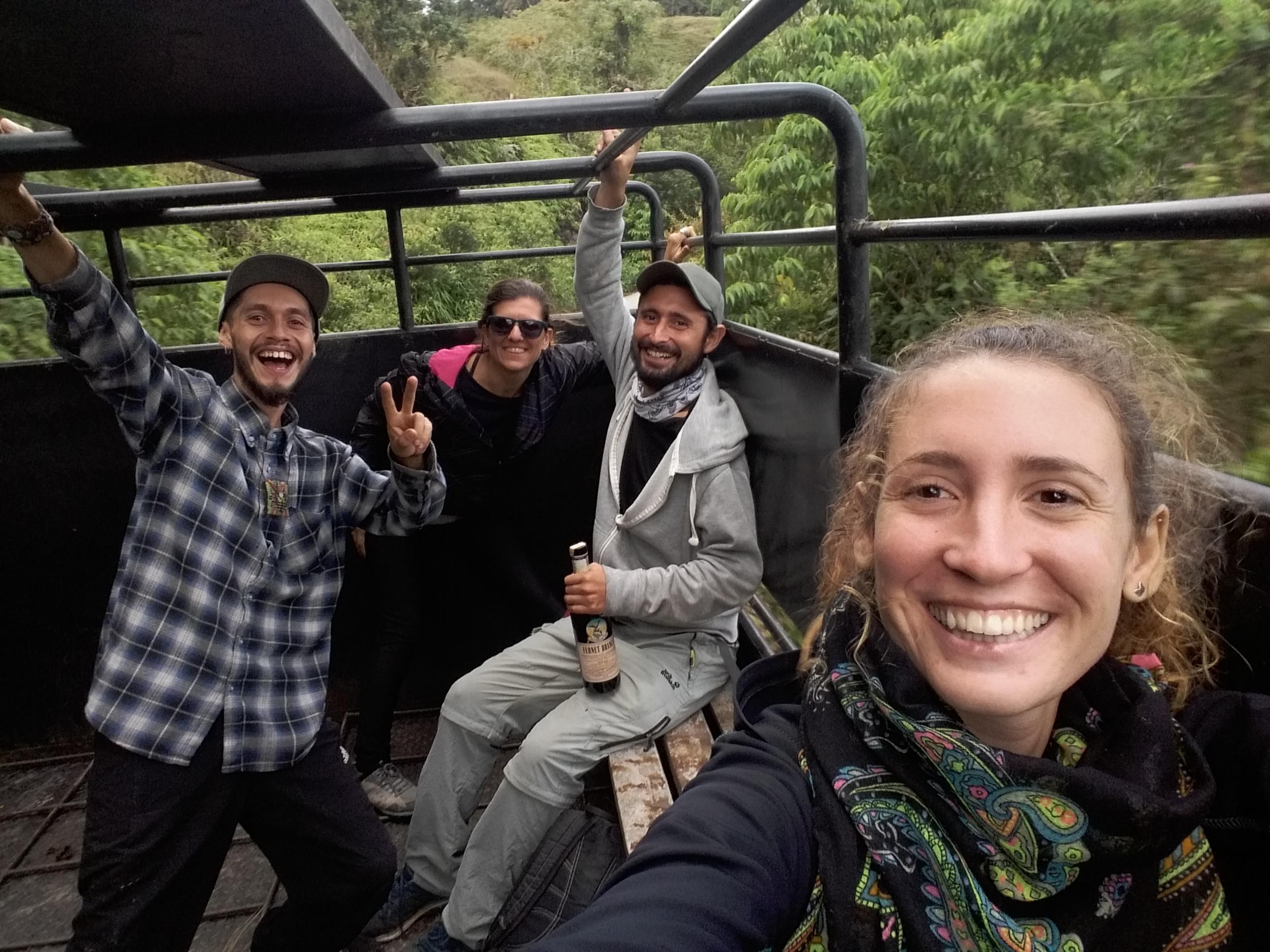 Mochileros en Venezuela, Merida