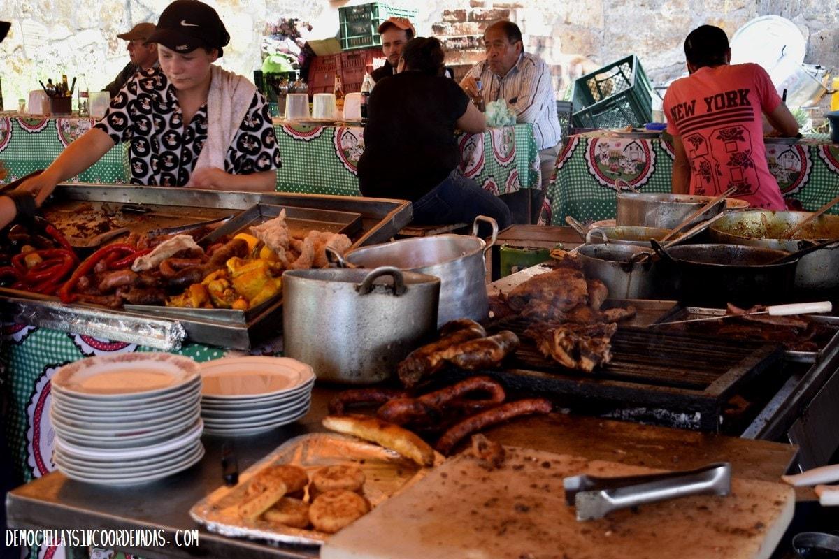 Villa de Leyva - que comer
