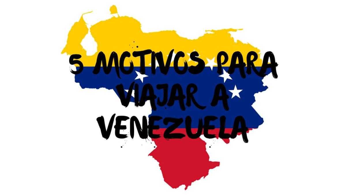 5 motivos para viajar de mochilero a Venezuela