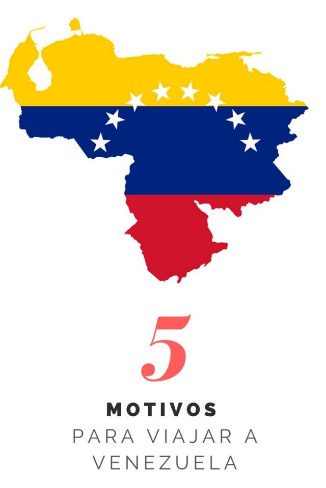 Cinco motivos para viajar a venezuela como mochileros